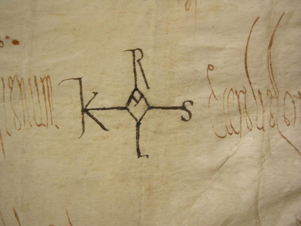 monogramma di Carlo Magno