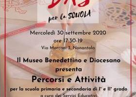 Open day per la scuola - mercoledì 30 settembre 2020